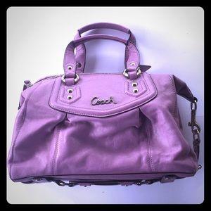 Coach F19247 Ashley Convertible Satchel Handbag